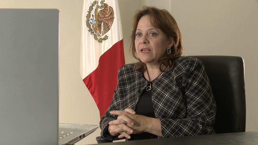 玛塔·德尔加多强调,应该尽早推广使用疫苗。(photo:EBCTW)