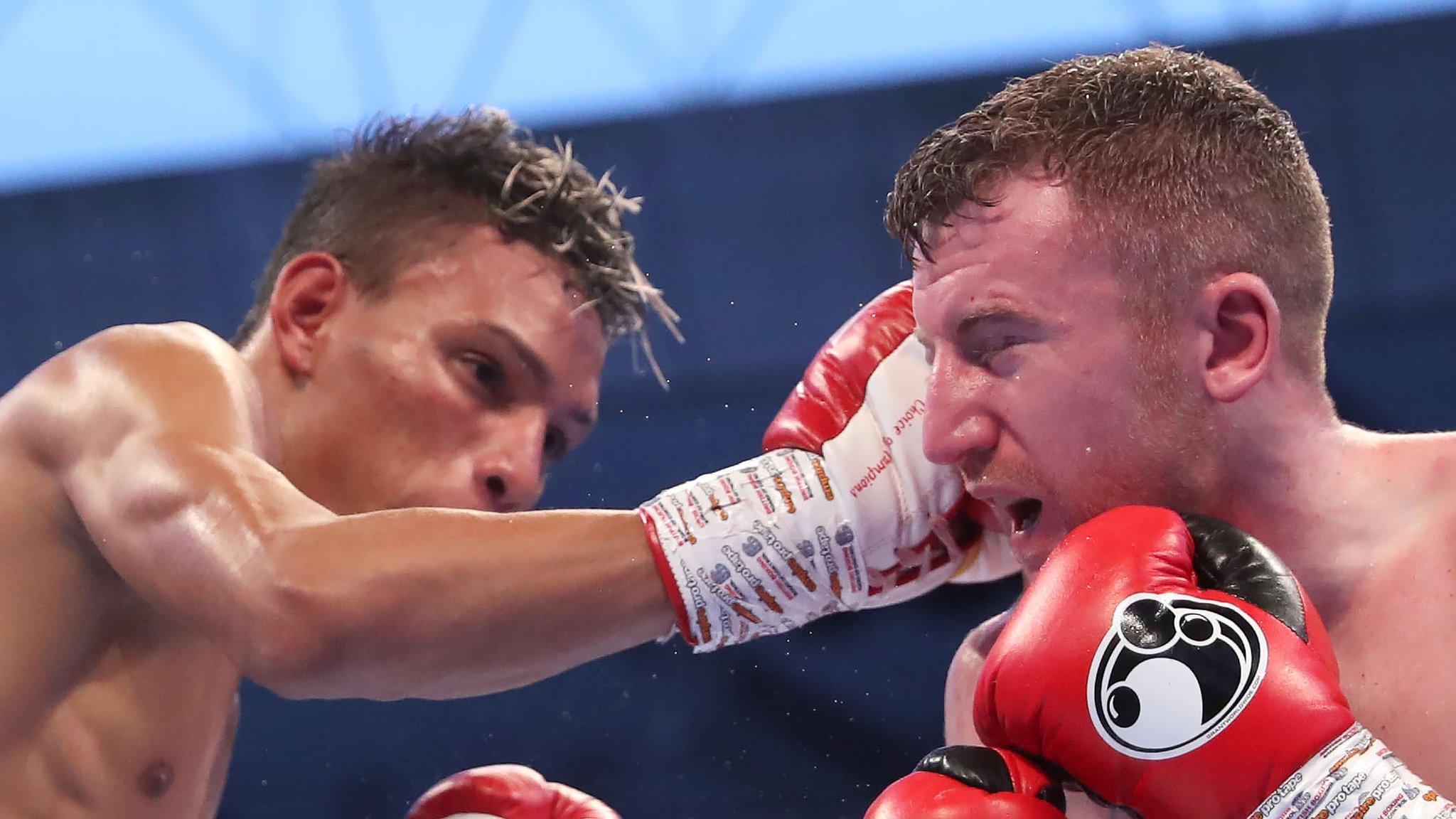 Belfast flyweight Paddy Barnes fails in bid to win world title