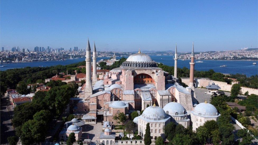 Hagia Sophia or Ayasofya, Istanbul