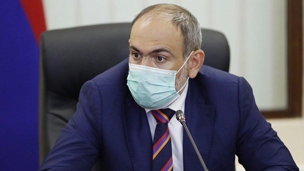 Nikol Pashinyan, primer ministro de Armenia