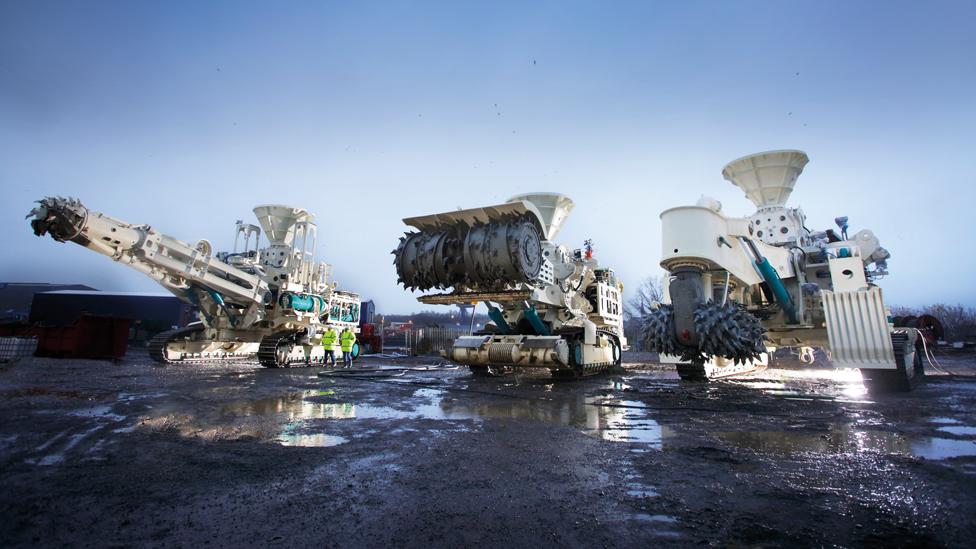 Nautilus mining machines