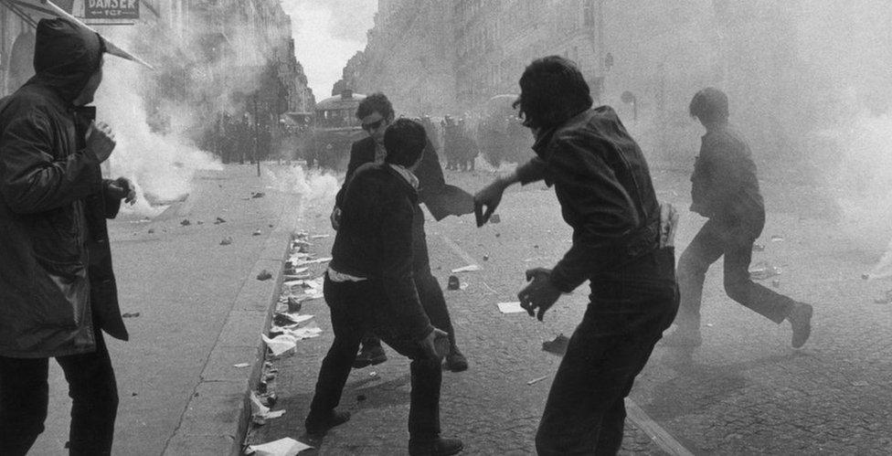 1968年的衝突造成過百人傷,另外有約500名學生被捕。
