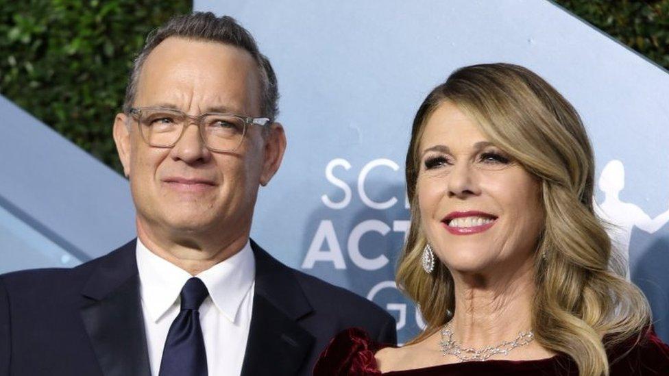 Tom Hanks y Rita Wilson