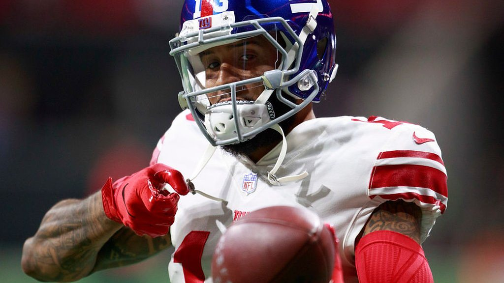 NFL: Odell Beckham Jr impresses as New York Giants fall to Atlanta Falcons