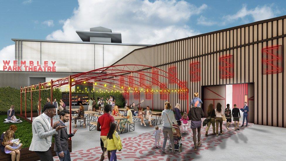 'Modern' Wembley Park theatre announced