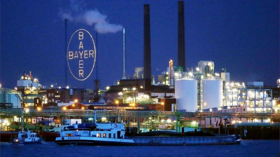 Bayer factory