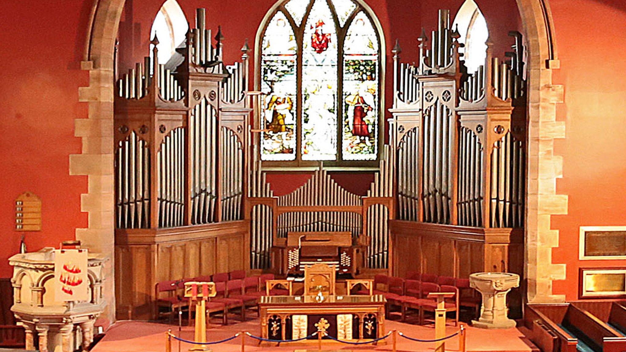 'Wonderful' church organ sent to Germany