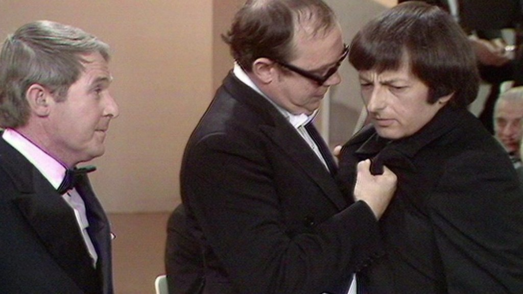 BBC News - André Previn in famous Morecambe and Wise comedy sketch