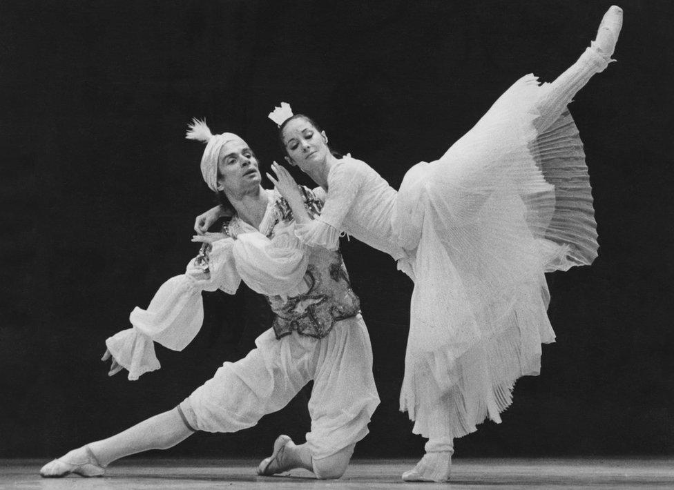 Nurejev u pariskoj Operi