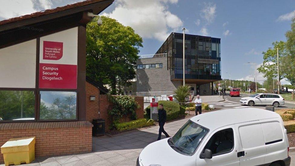 The Treforest campus near Pontypridd