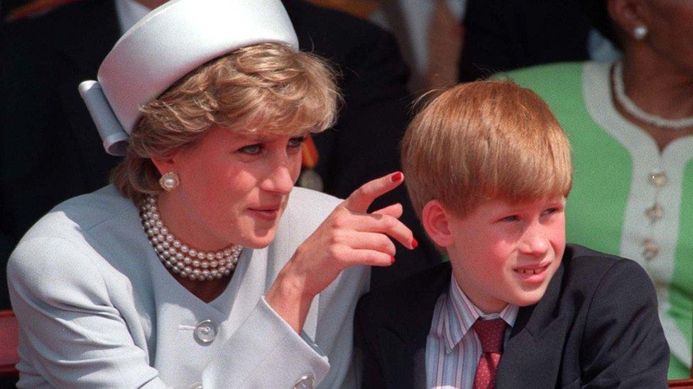 Princeza Dajana i princ Hari