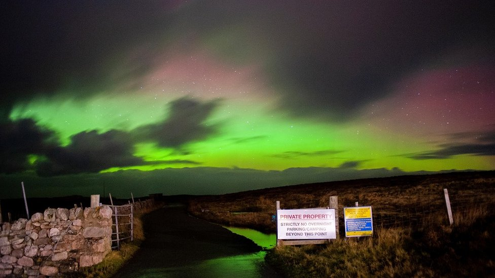 Aurora borealis, Durness