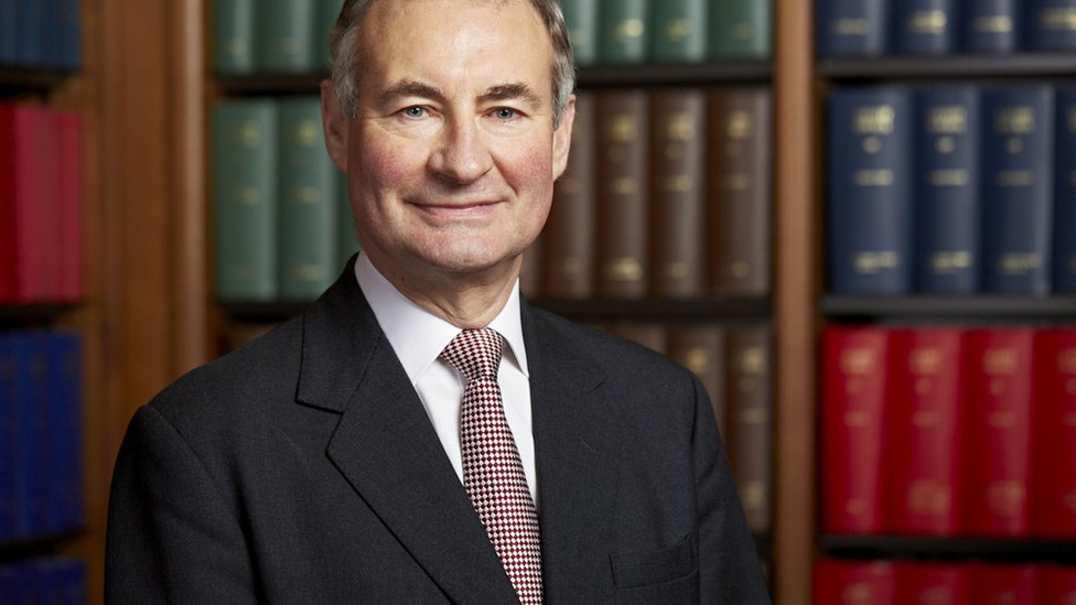 Supreme Court Justice Lord Anthony Hughes