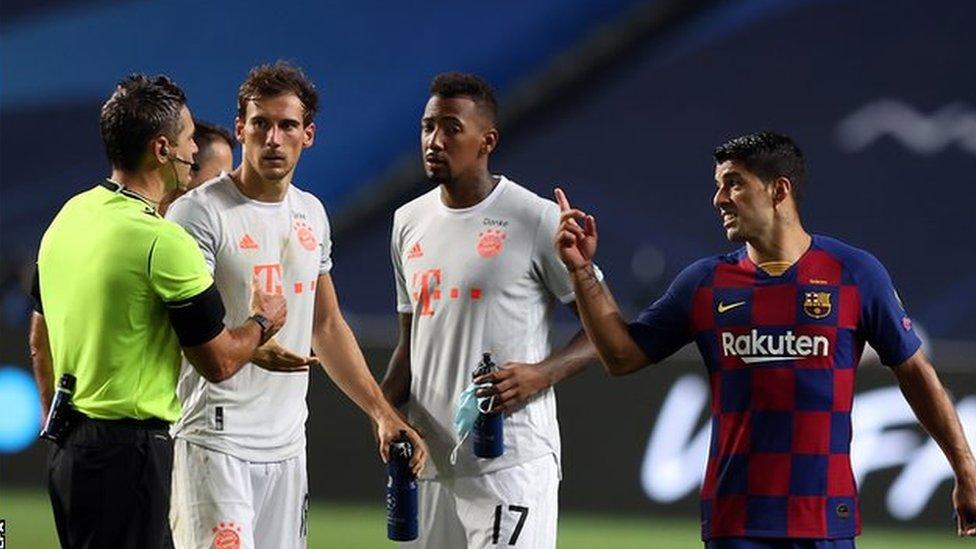 انتقل لويس سواريز من ليفربول إلى برشلونة، في يوليو/ تموز عام 2014