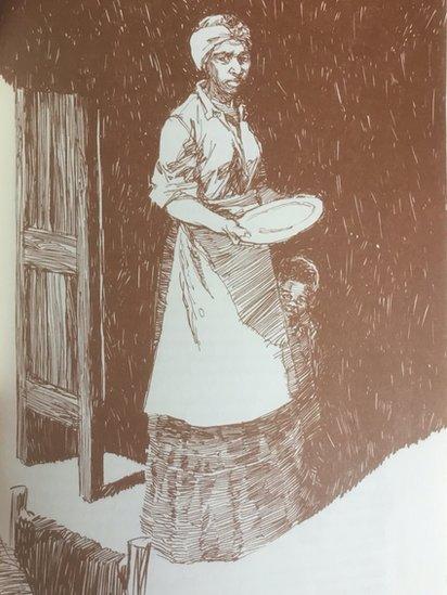 Imagen de Sylvia Hector, quien junto a su marido John Ferdinand Webber, estableció el rancho Webber a orillas del río Bravo.