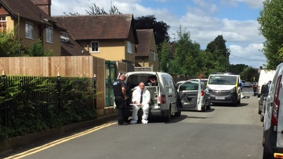 Body of man found in Worcester treated as 'unexplained'