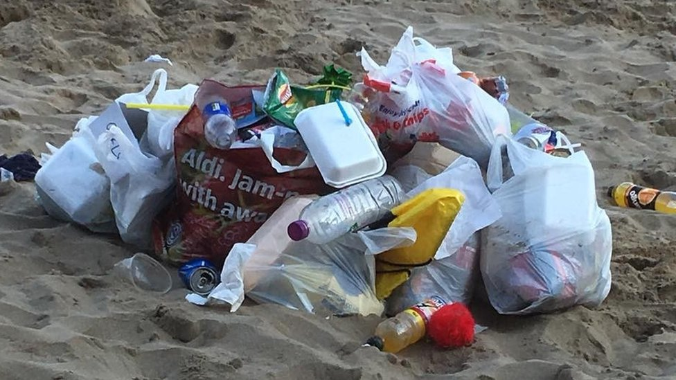 Action to stop litter ruining Barry Island and Porthcawl beaches