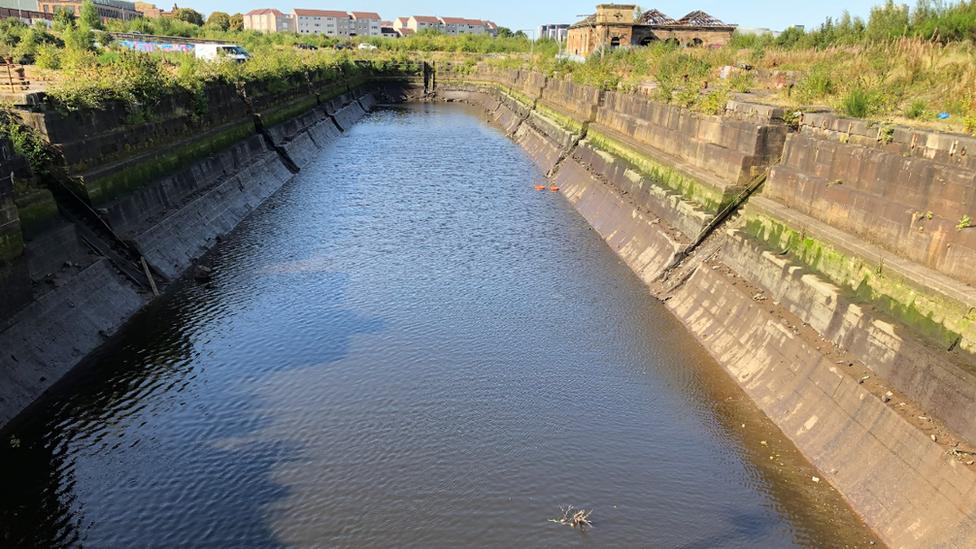 Govan dry dock