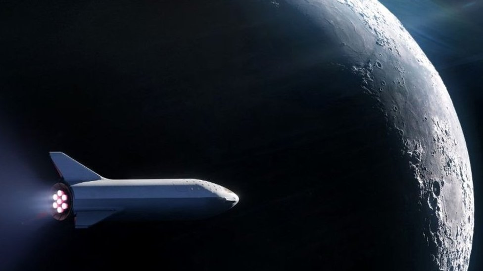 Modelo de la nave