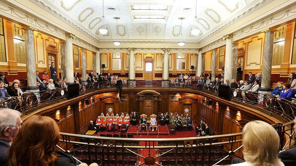Parlamento de Nueva Zelanda.