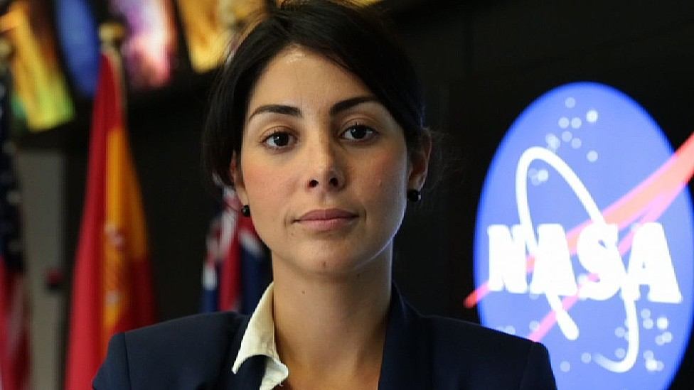 Diana Trujillo en la NASA