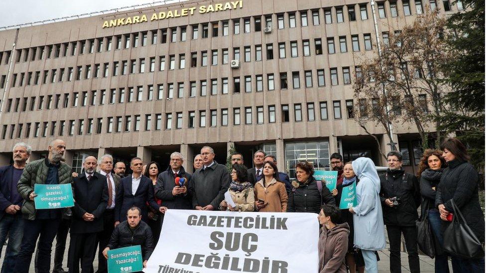Türkiye Gazeteciler Sendikası 'Odatv iddianamesi' sanıkları için 10 Mart'ta bir basın açıklaması yaptı