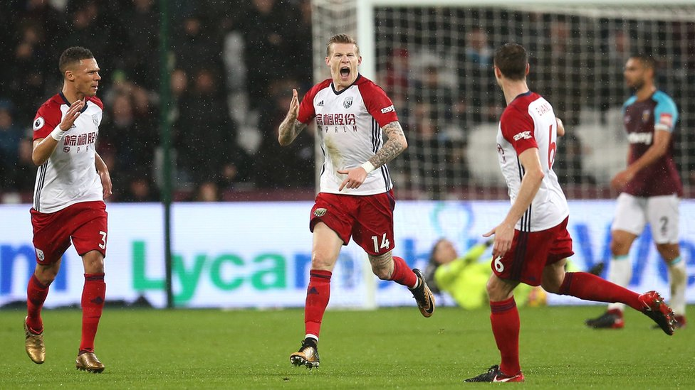 McClean was robbed during his side's defeat to West Ham