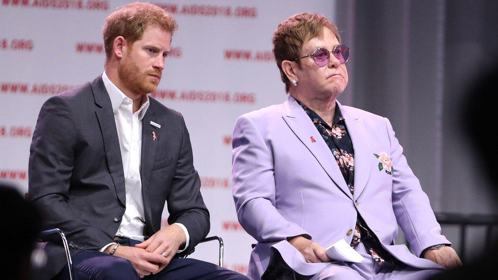 Princ Hari i Ser Elton Džon