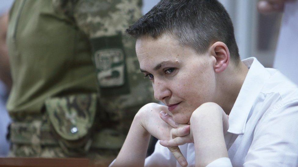 Надію Савченко висунули в президенти
