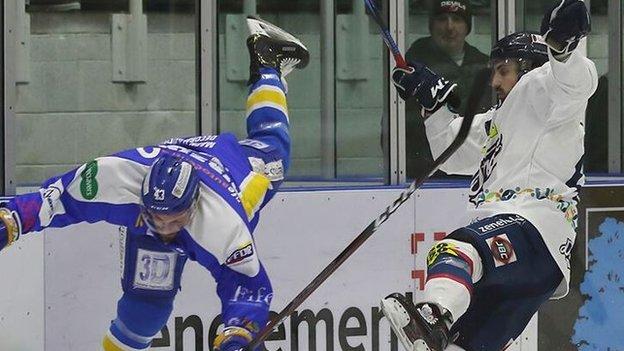 Ice hockey: Todd Dutiaume feels sorry for Fife Flyers fans