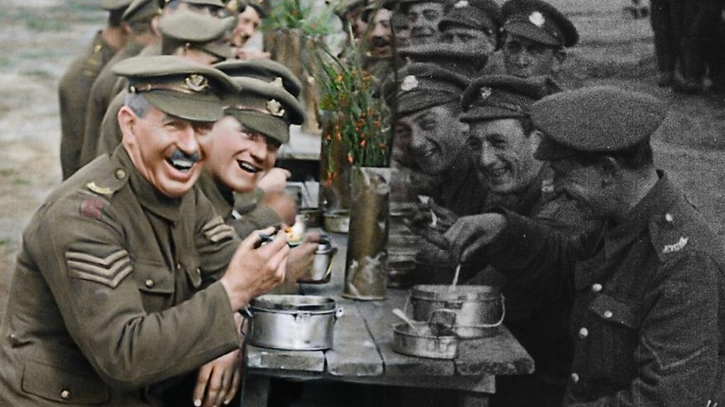 Film that brings colour to WW1 opens