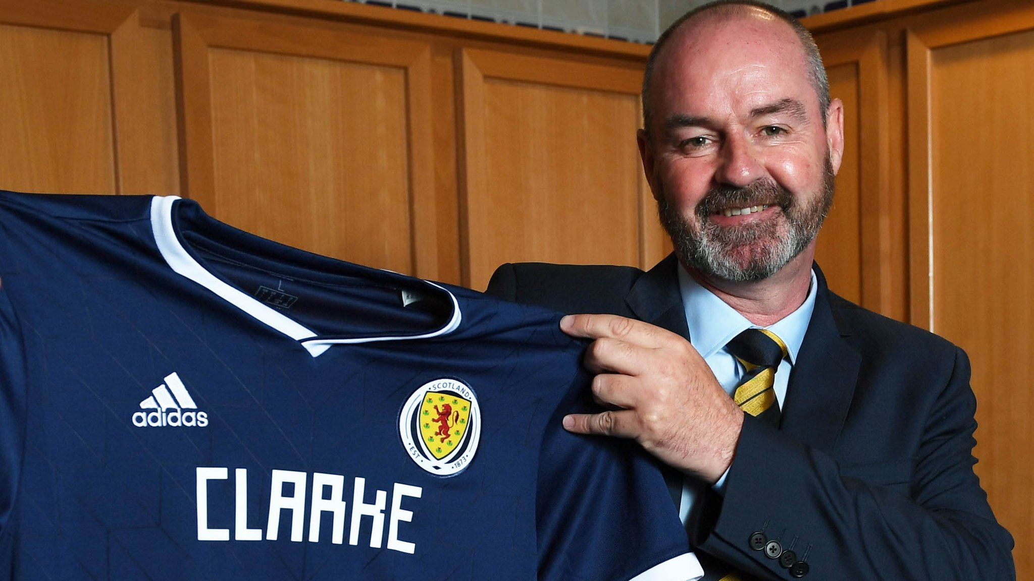 Steve Clarke: Scotland manager 'won't chase down retired players'