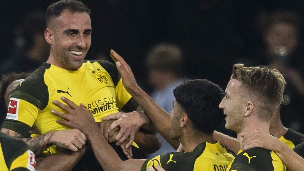 Borussia Dortmund 3-1 Eintracht Frankfurt: Jadon Sancho helps Dortmund win
