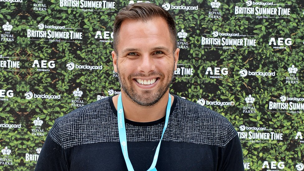 The Sun's executive editor Dan Wootton in 2017