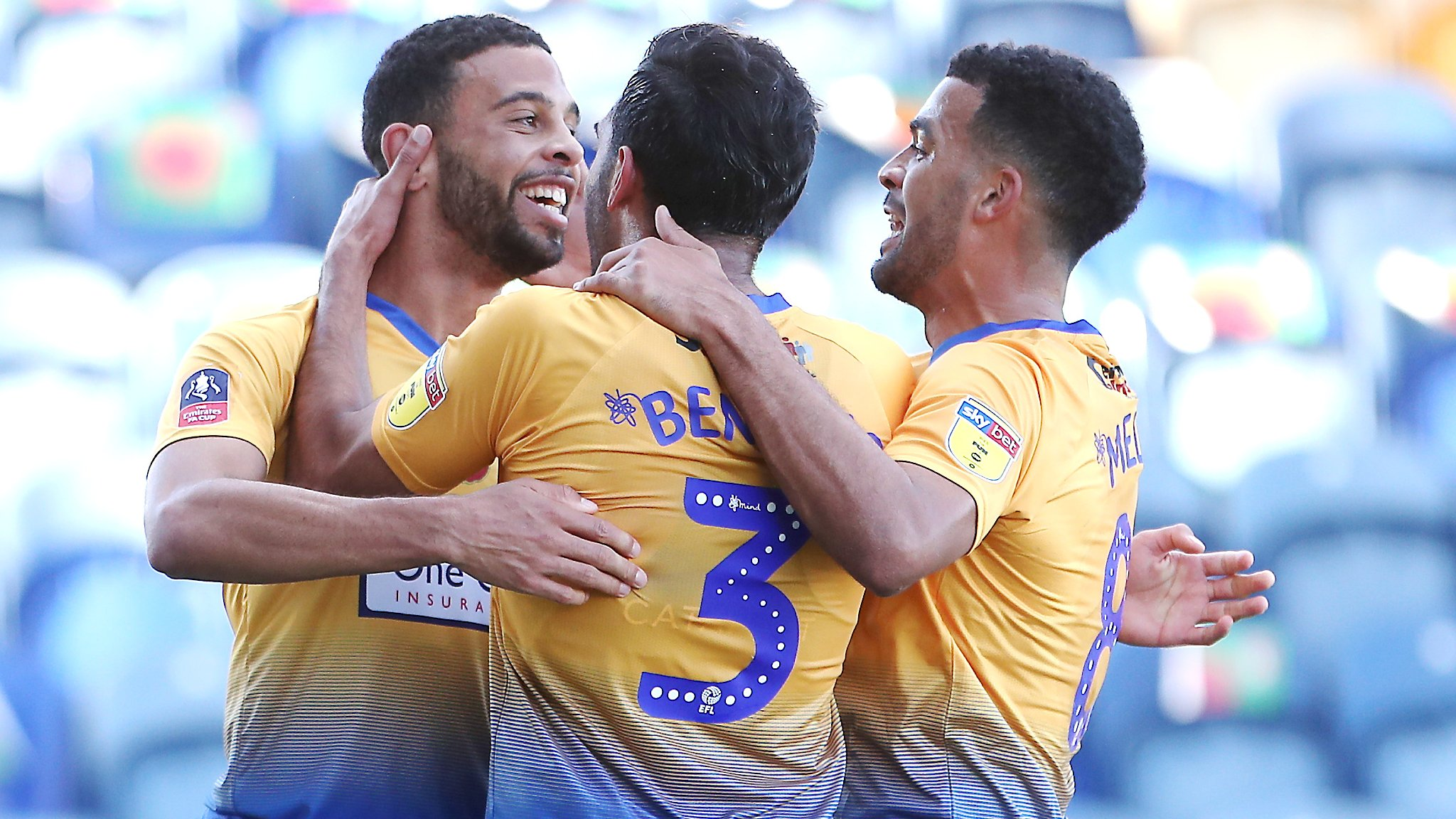 Mansfield Town 1-1 Charlton Athletic