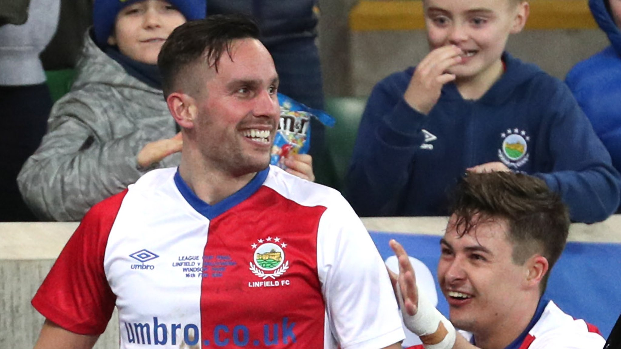 League Cup: Linfield edge Ballymena to win decider