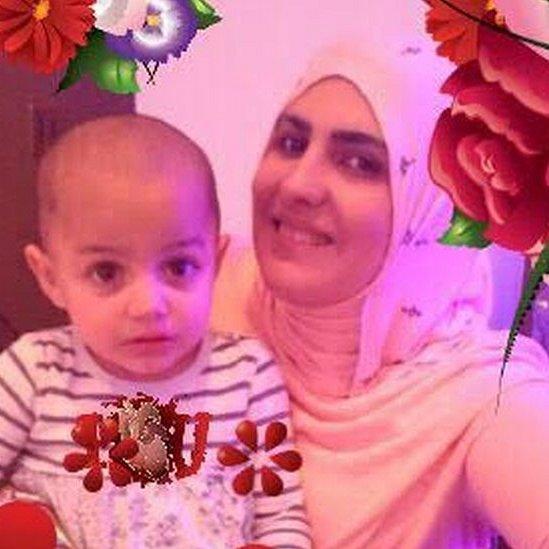 Nadia Choucair and daughter Zainab