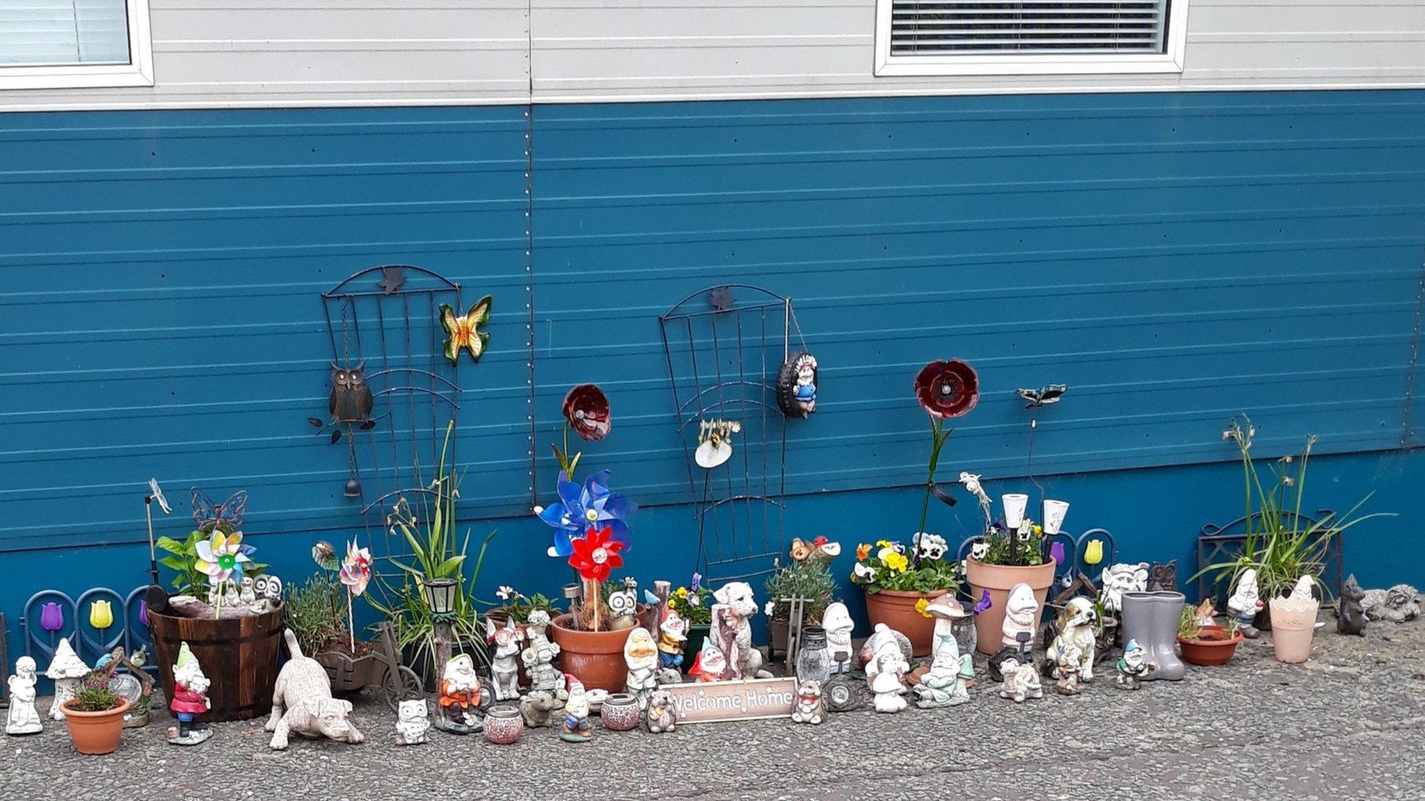 Gateshead garden ornament haul sparks owner search