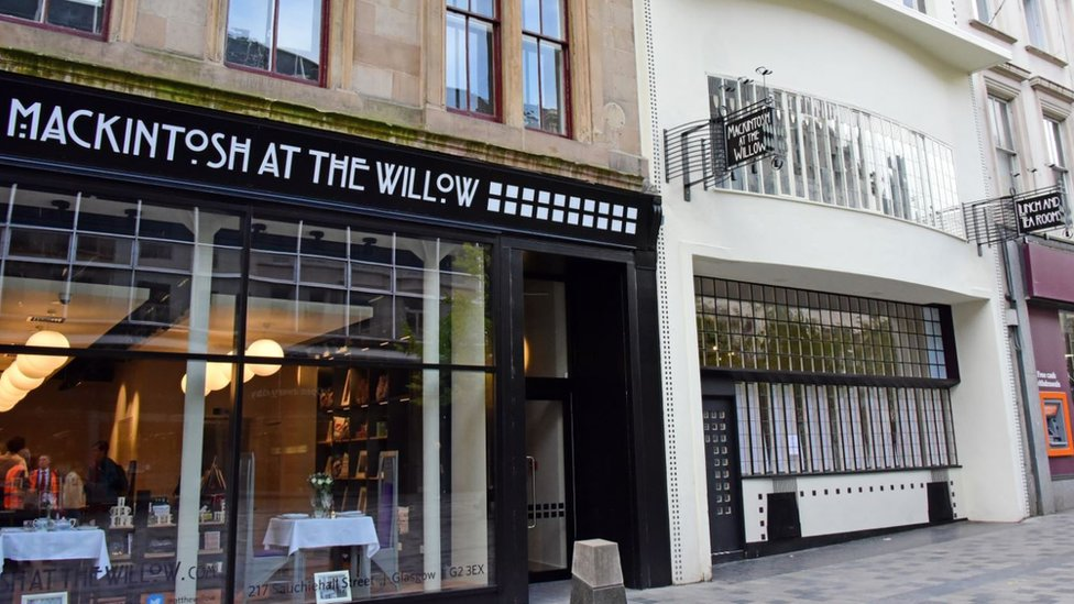 Mackintosh at the Willow, on Glasgow's Sauchiehall Street