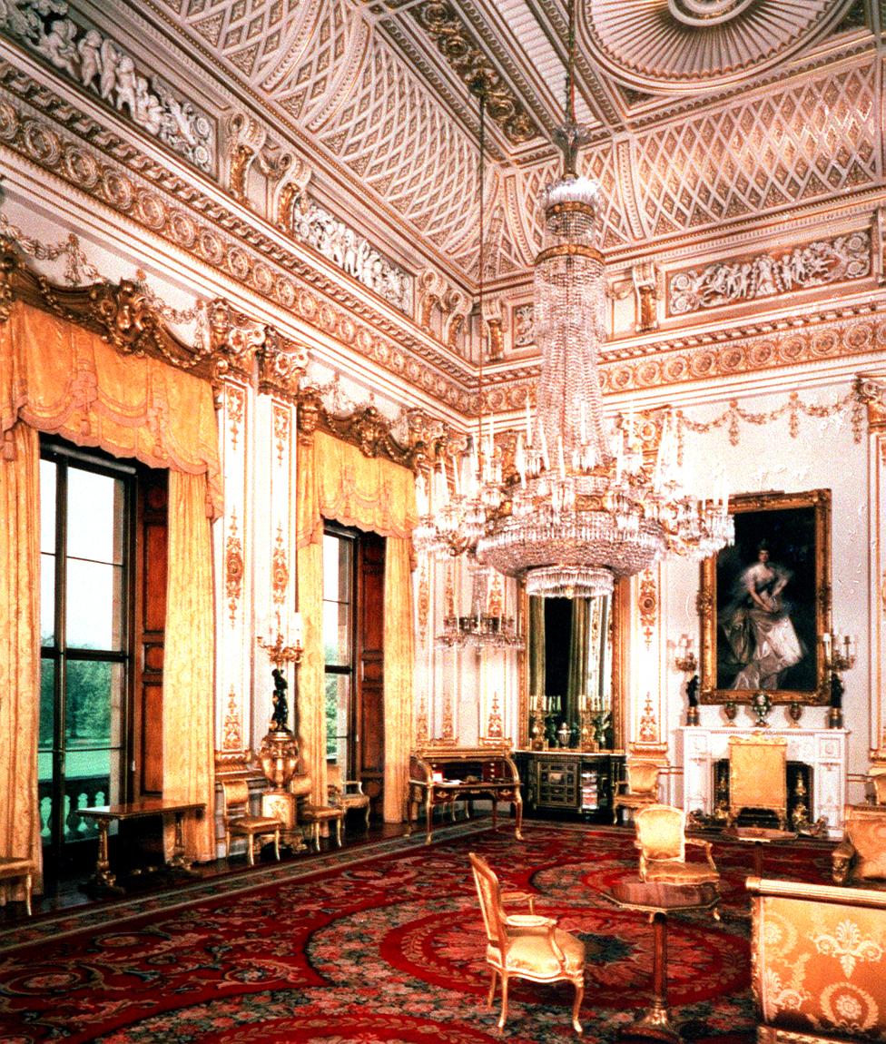 White Drawing Room, Buckingham Palace, 1993