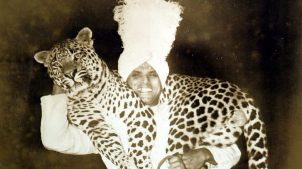 The Indian animal trainer who became a circus legend