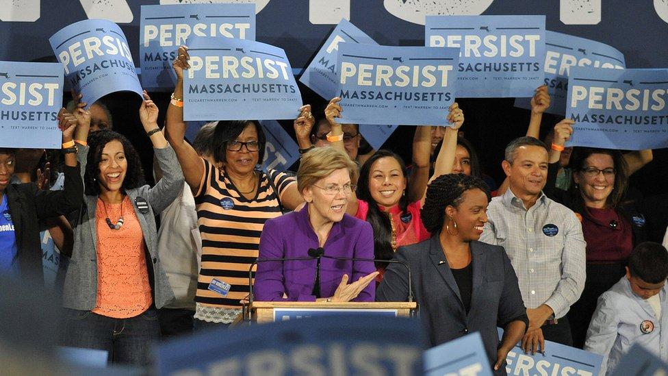 Caucus demócrata.