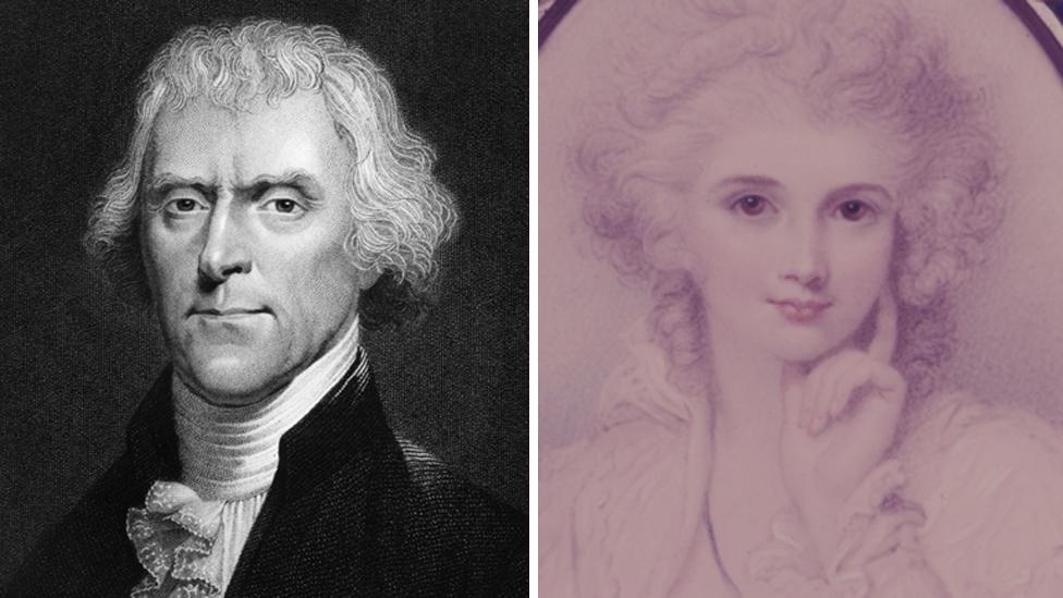Thomas Jefferson y María Cosway