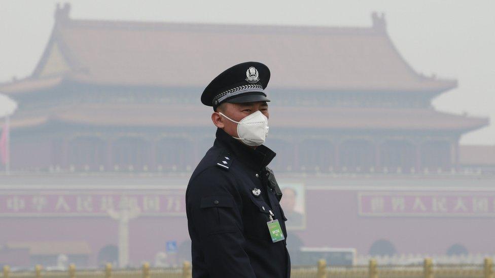 Segurança em Pequim
