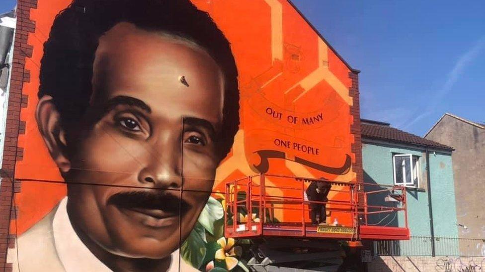 Bristol race activist's daughter makes bid to see mural