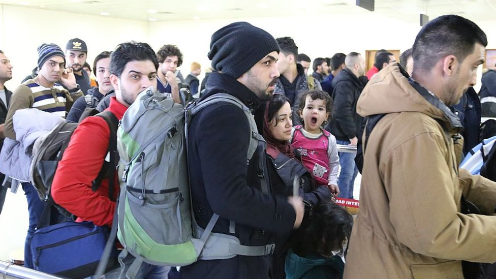 Inmigrantes de Irak en Finlandia
