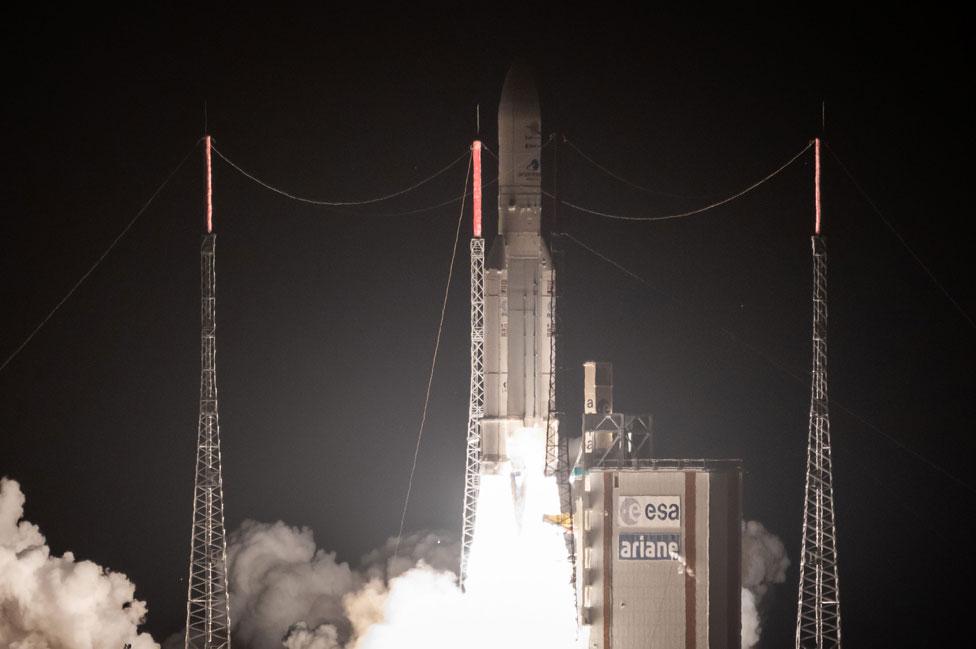 Lanzamiento de la misión BepiColombo