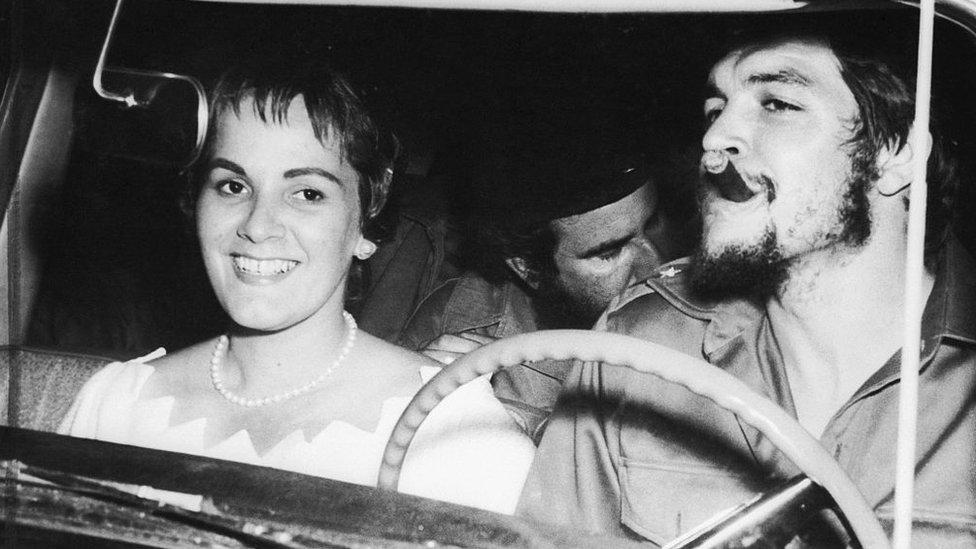 Aleida March y Guevara.