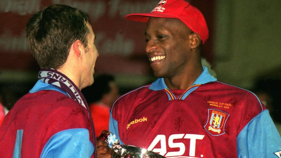 Ugo Ehiogu and Gareth Southgate