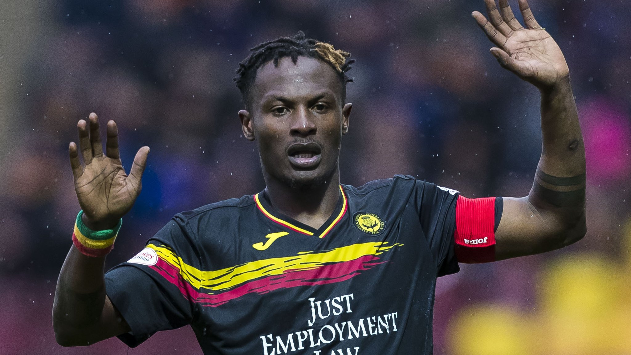Partick Thistle: Captain Abdul Osman among 14 released by relegated Jags